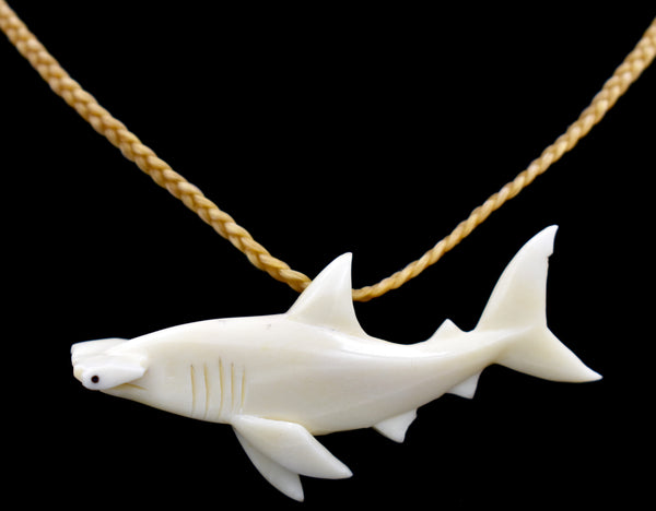 Hammerhead Shark (Bone Carving)