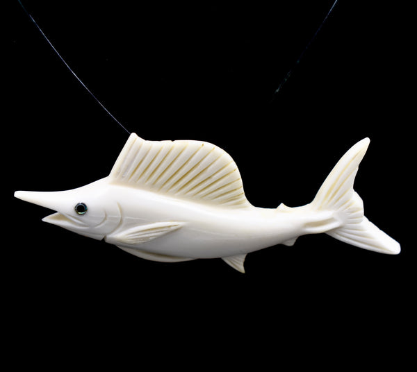 "Sailfish ""Spindlebeak"" (Bone)"