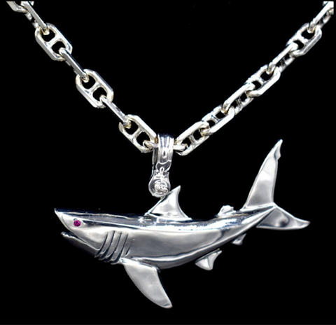 Tiger Shark Pendant