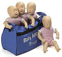 Baby Anne® CPR Training Manikin 4-Pack (Light Skin) 050010