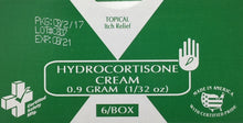 794 - Hydrocortisone Cream 1% - 1g - 6/unit Certified 216-025