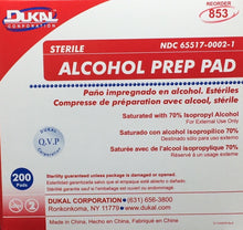 "Alcohol Swabs - Alcohol Wipe-Ups - 1"" x 2"" - 200/box   221-025"