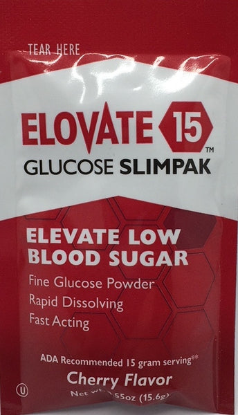 Glucose Powder - Cherry Flavored -  Elovate 15 (515-050) Individual Packets