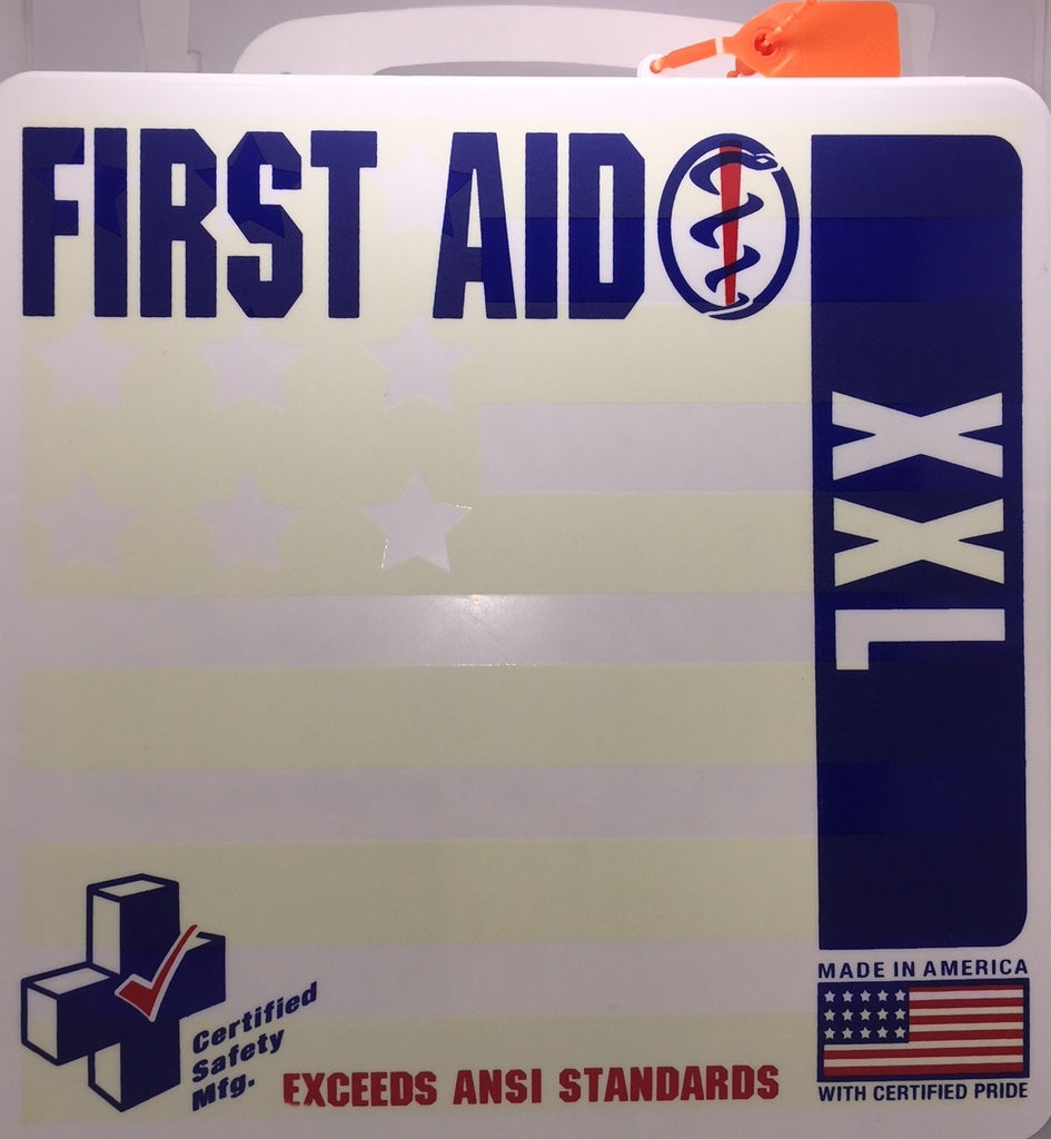 First Aid Kit - 24PW - ANSI XXL Deluxe First Aid Kit - 50 Person (605-143)