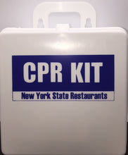 CPR KIT STATE OF NEW YORK RESTAURANTS WITH SIGN 607-018