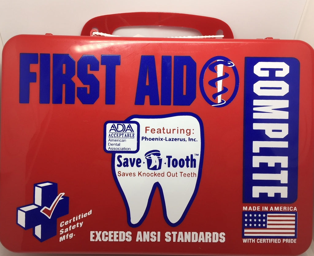First Aid Kit  - 18PR - First Aid Complete Kit (612-072)