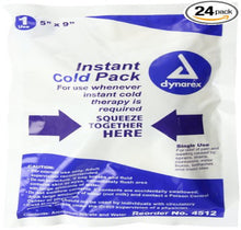 "Cold Packs - Instant cold treatment 4"" x 5""  (4511)"