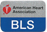AHA BLS Lapel Pin (pace of 10) (90-1534)