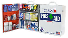 Class B + Meds FAC-3 First Aid Cabinet 3 Shelf