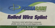 "651 - Wire Splint - 3.5"" x 30"" - 1/unit Certified 216-018"