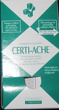 Certi-Ache - 25/2's (50 Tablets) Certified 504-043