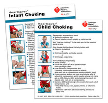 AHA Heartsaver® Child And Infant Choking Wallet Card (15-1045)