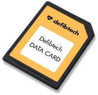 Defibtech Training Software Data Card (DTR-301)