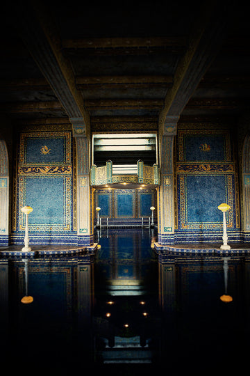 Hearst Castle Pool Web