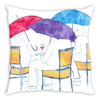 Happy Hour Throw Pillow