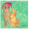 Share Your Joy With Puppies Greeting Cards