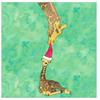 Holiday Joy with Giraffe Greeting Cards
