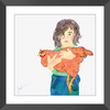 My Prize Chicken Framed Print