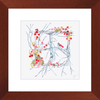 Square Winter Weath Framed Prints