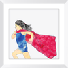 Supergirl Framed Prints
