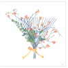 Garden Rake Wreath Holiday Greeting Card