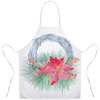 Poinsettia Holiday Aprons