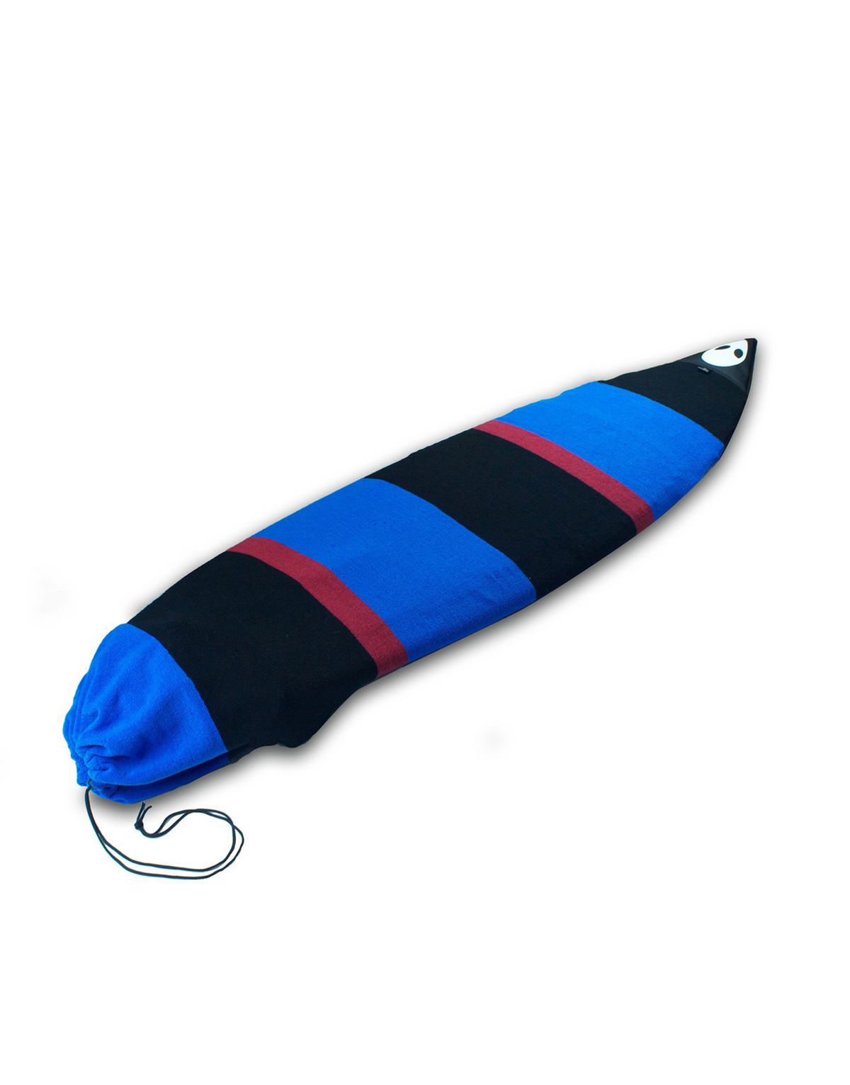 Lunasurf 6ft Surfboard Sock Black Red Blue