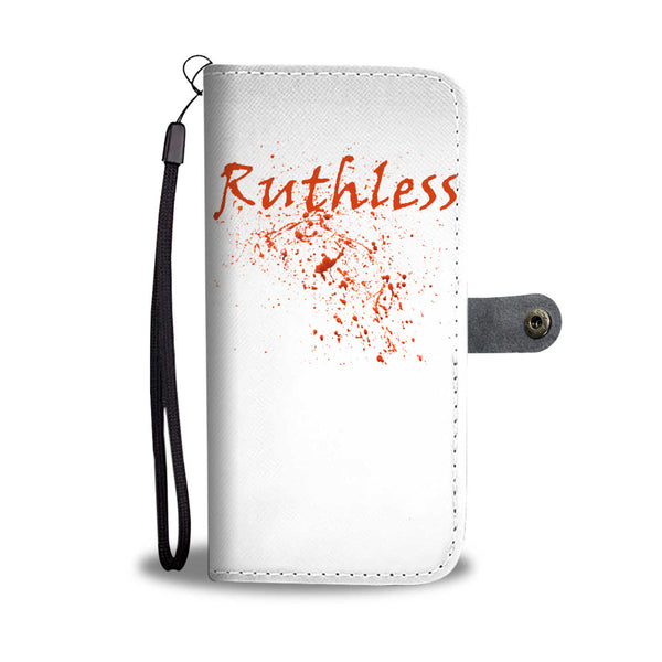 Ruthless Phone Wallet Case White | Mens Fashion | Guys Clothing Only