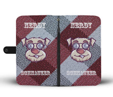 Amazing Nerdy Schnauzer Wallet Case | Wallet Case | Great Latin Clothing