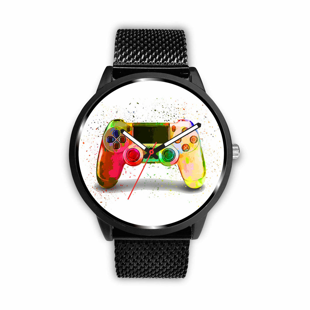 Gamer Abstract Watch | Unique Designed Watch | Watch | Great Latin Clothing