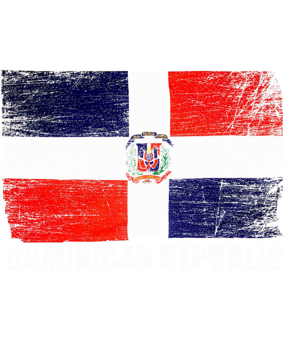 Dominican Republic Flag Unisex T-Shirt - Great Latin Clothing