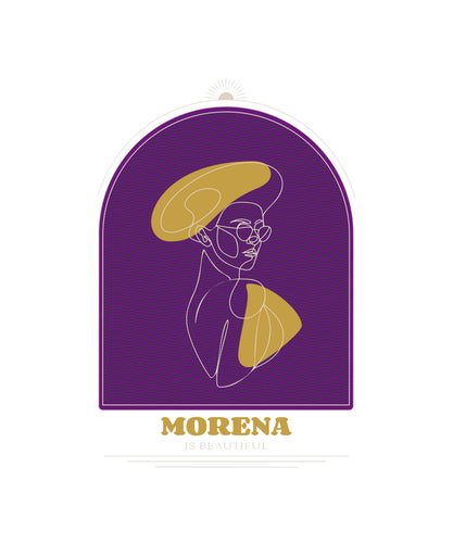 Morena and Proud Women's short sleeve t-shirt | Tshirt | Great Latin Clothing