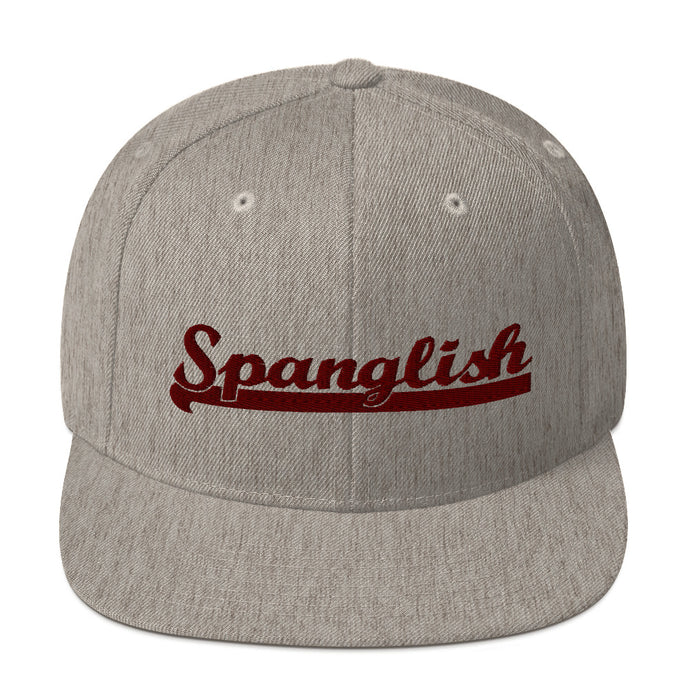 Spanglish Snapback Hat - Great Latin Clothing