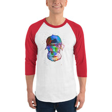 Cool Schnauzer 3/4 sleeve shirt | Baseball Tee | Great Latin Clothing