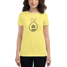 Cool Cat is Cool Women's short sleeve t-shirt - Great Latin Clothing