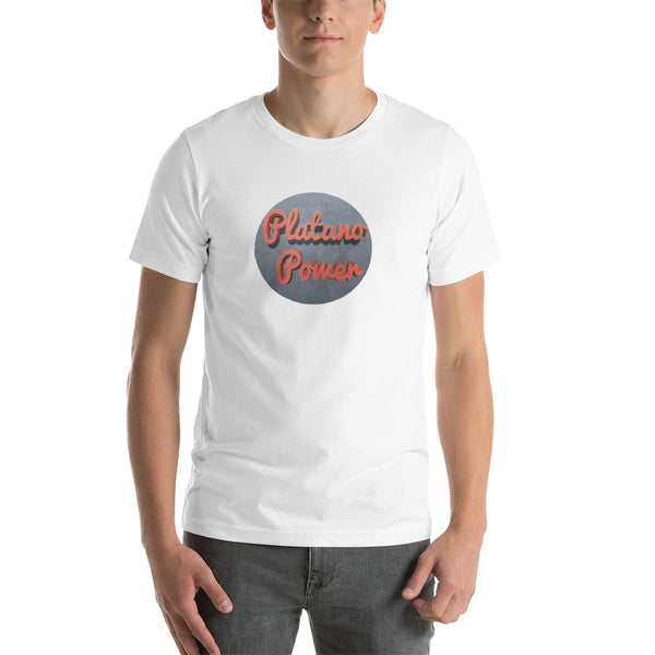 Platano Power T-Shirt | Camiseta Apera | Dominican Tee | Mens Fashion | Guys Clothing Only