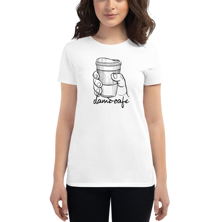 Dame Cafe Women's short sleeve t-shirt | Tshirt | Great Latin Clothing