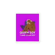 Soy Quien Soy Stickers | Stickers | Great Latin Clothing