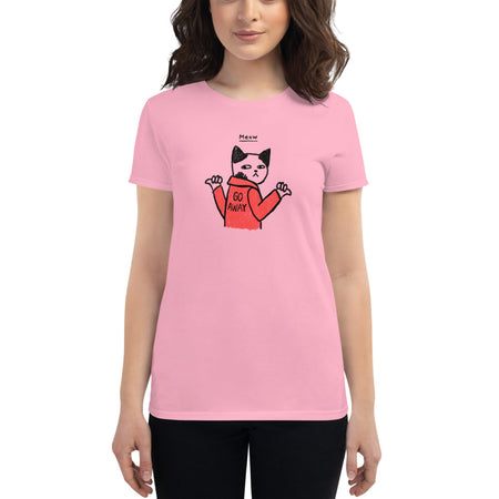 Meow Women's short sleeve t-shirt | Tshirt | Great Latin Clothing