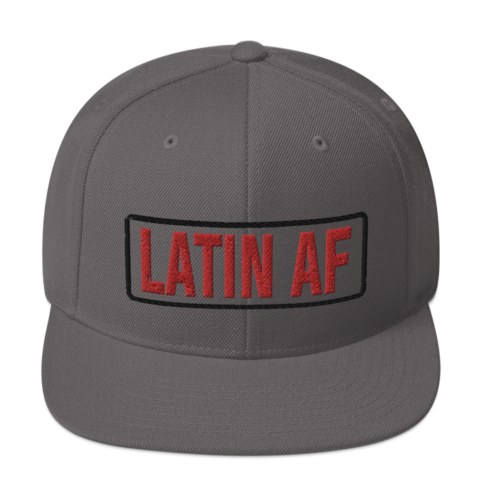 Latin AF Snapback Hat - Great Latin Clothing
