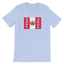 Peru Flag Unisex T-Shirt | Tshirt | Great Latin Clothing