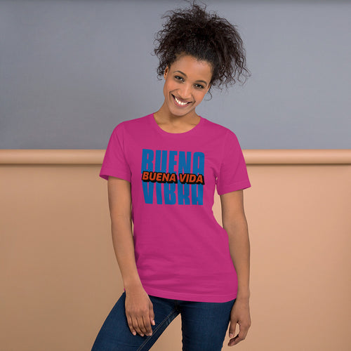 Buena Vibra Buena Vida T-Shirt | Camiseta | Tshirt | Great Latin Clothing