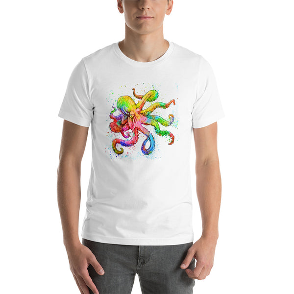 Kraken / Octopus Short-Sleeve T-Shirt | Mens Fashion | Guys Clothing Only