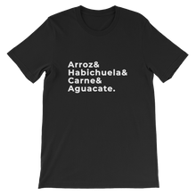 Arroz Habichuela Carne Aguacate | Latinx Tshirt - Great Latin Clothing