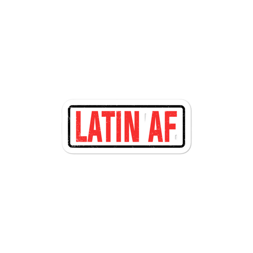 Latin AF Stickers | Stickers | Great Latin Clothing