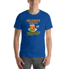 Greatness Powered By Mofongo Unisex T-Shirt | Tshirt | Great Latin Clothing