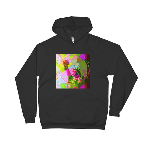 Liberty Abstract Unisex Fleece Hoodie | Hoodies | Great Latin Clothing