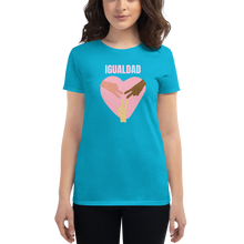 Igualdad Equality Women's short sleeve t-shirt - Great Latin Clothing