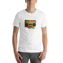 Boombox Abstract Short-Sleeve Unisex T-Shirt - Great Latin Clothing