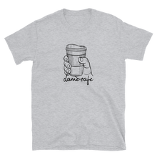 Dame Cafe Short-Sleeve Unisex T-Shirt - Great Latin Clothing